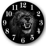 Часы стеклянные