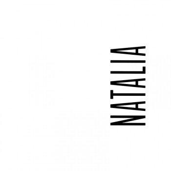 Наклейка на телефон Наталья - белый фон