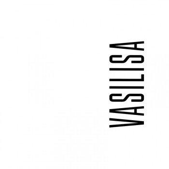Наклейка на телефон Василиса - белый фон