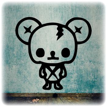 Одноразовый трафарет Мышь
