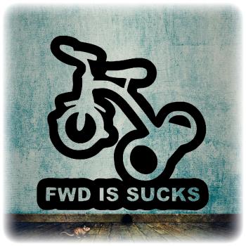 Одноразовый трафарет велосипед