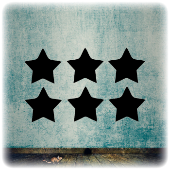 Многоразовый трафарет Набор звезд 3