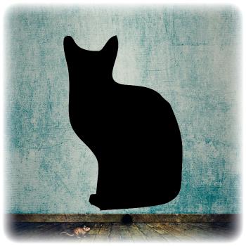 Многоразовый трафарет Кошки