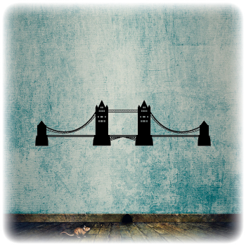 Одноразовый трафарет Мост