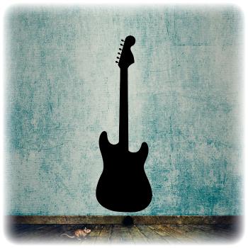 Многоразовый трафарет Гитара