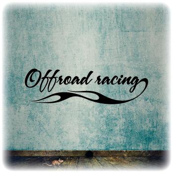 Одноразовый трафарет racing