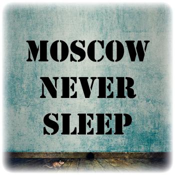 Одноразовый трафарет Moscow