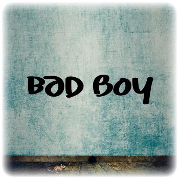Одноразовый трафарет Bad Boy