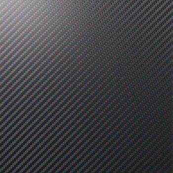 Наклейка на телефон Черный Карбон