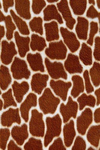 Наклейка на планшет Жираф Тёмный