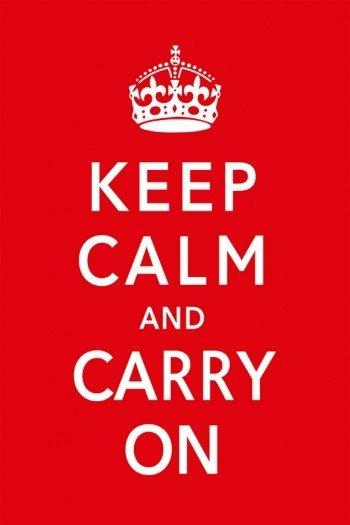 Наклейка на планшет Keep Calm