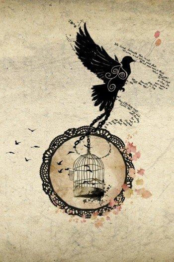 Наклейка на планшет Стремление К Свободе