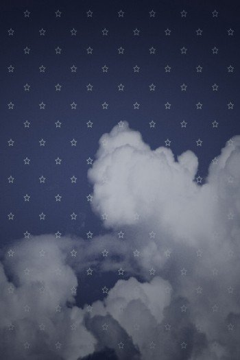 Наклейка на планшет Текстура Со Звездочками
