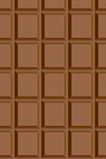 Наклейка на планшет Шоколадная Плитка