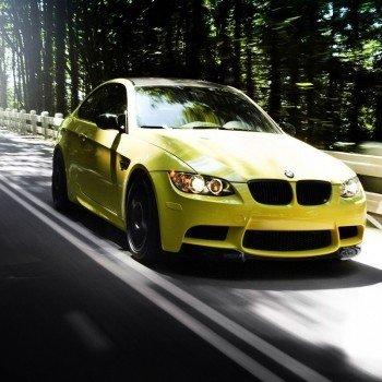 Наклейка на плеер BMW