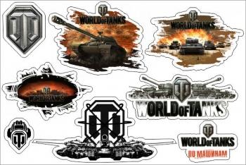 Стикерпак Набор наклеек А5 World of tanks