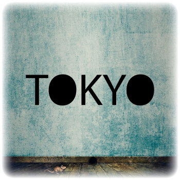 Многоразовый трафарет Токио
