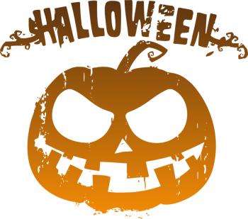 Наклейка на авто Halloween