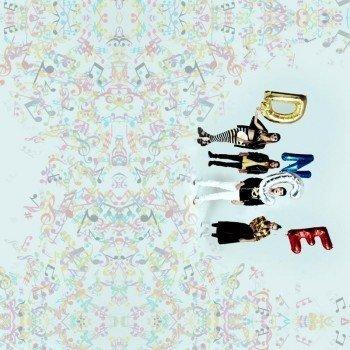 Наклейка на телефон DNCE band / НОТЫ