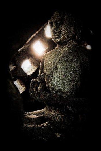 Наклейка на планшет Будда