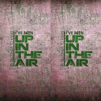Наклейка на телефон UP IN THE AIR / Green