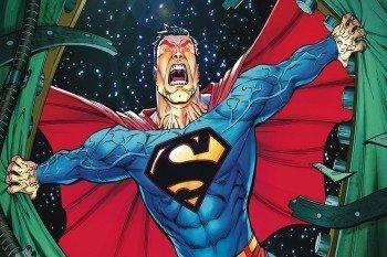 Наклейка на ноутбук Superman