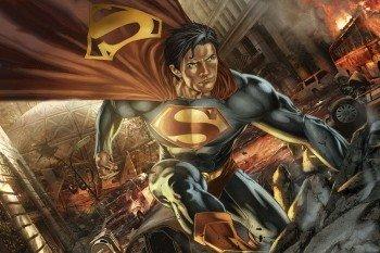 Наклейка на ноутбук Супермен