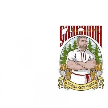 Наклейка на телефон Славянин