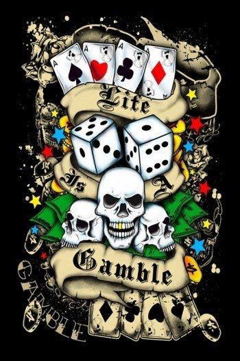 Наклейка на планшет Lite Gamble