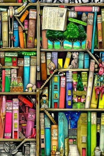 Наклейка на планшет Сказочная Библиотека