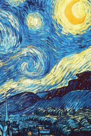 Наклейка на планшет Ван Гог