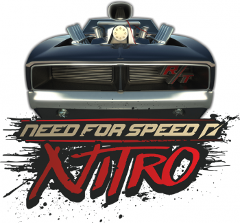 Наклейка на стену Need for Speed Nitro