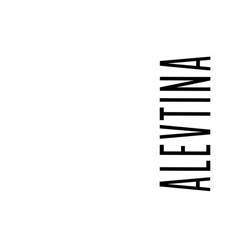 Наклейка на телефон Алевтина - белый фон
