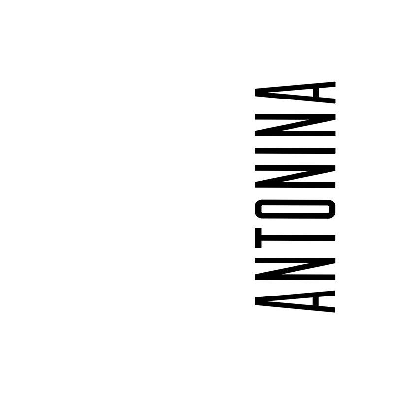 Наклейка на телефон Антонина - белый фон