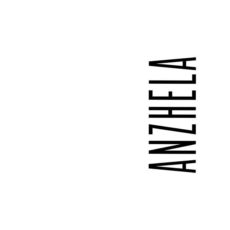 Наклейка на телефон Анжела - белый фон