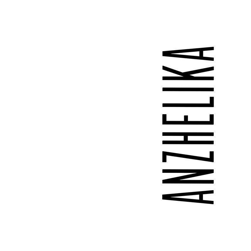 Наклейка на телефон Анжелика - белый фон