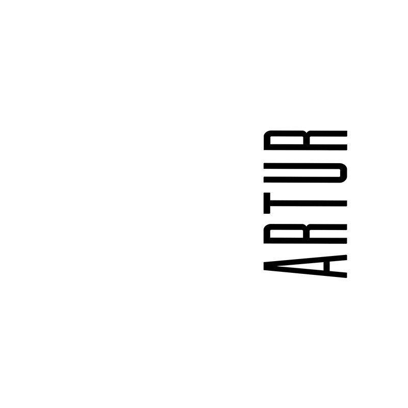 Наклейка на телефон Артур - белый фон