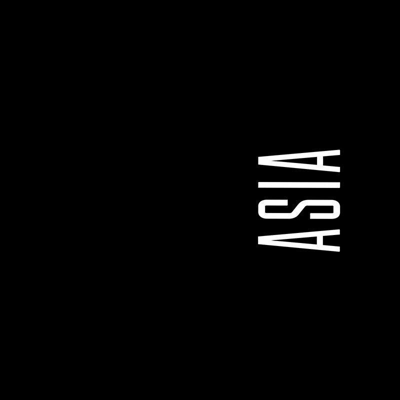 Наклейка на телефон Ася - черный фон