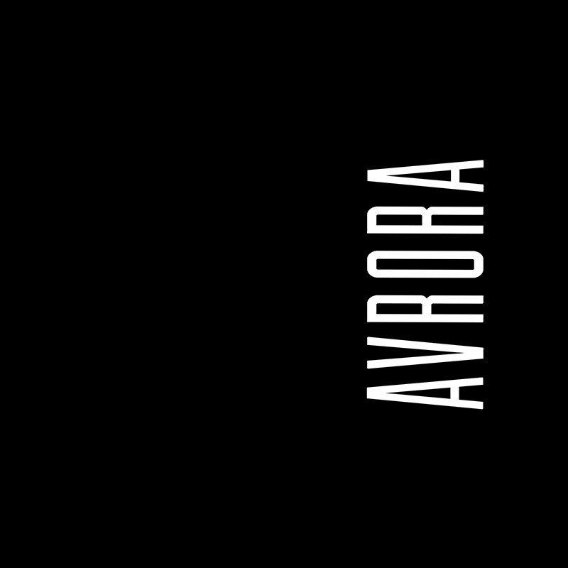 Наклейка на телефон Аврора - черный фон