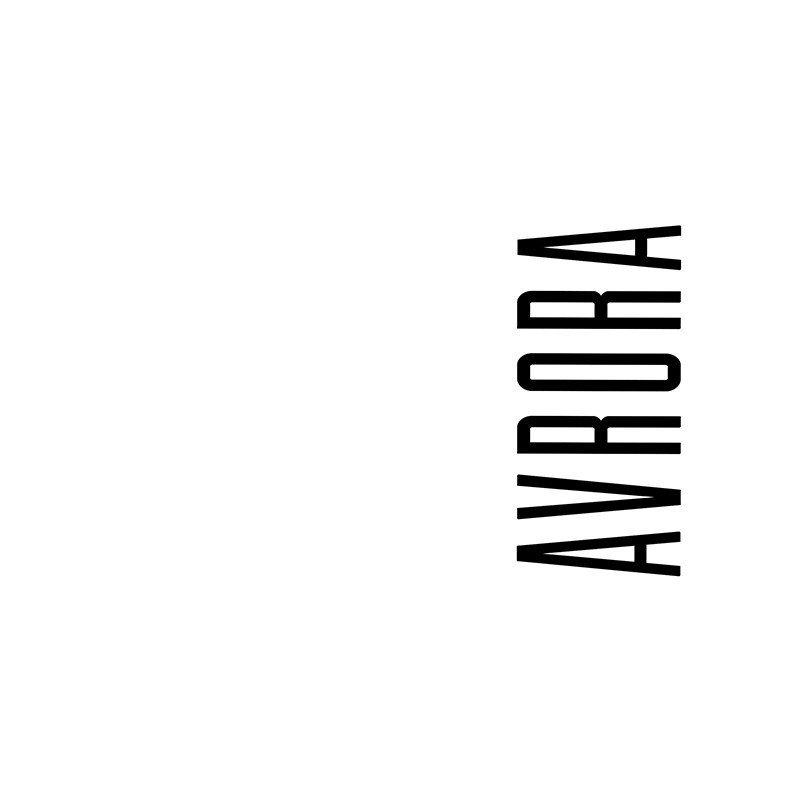 Наклейка на телефон Аврора - белый фон