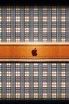 Наклейка на планшет Burberry+Apple