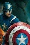 Наклейка на планшет Капитан Америка