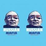 Наклейка на  плеер Russian Mafia