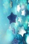 Наклейка на планшет Блестящие Звезды