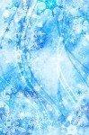 Наклейка на планшет Ледяные Снежинки