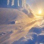 Наклейка на плеер Зимний Восход