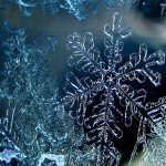 Наклейка на плеер Ледяная Снежинка