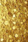 Наклейка на планшет Золотые Монетки