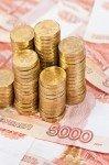 Наклейка на планшет Российские Деньги