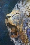 Наклейка на планшет Царь Зверей